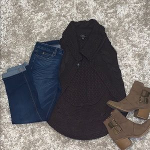 Sweaters - Bebe knitted sweater vest